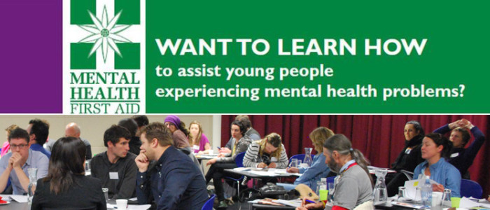 Youth Mental Health First Aid (YMHFA) Course.